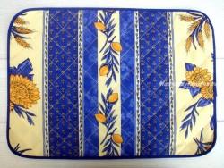 Mantel individual Antimanchas - Modelo GIRASOL ABEJA - Azul