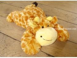 Peluche jirafa amarilla/naranja - 34 cm.
