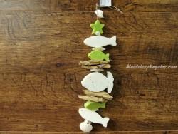 Guirnalda de jabones - Modelo PECES y ESTRELLA - 40 cm.