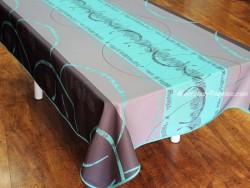 Mantel antimanchas - Modelo ASTRID - Azul