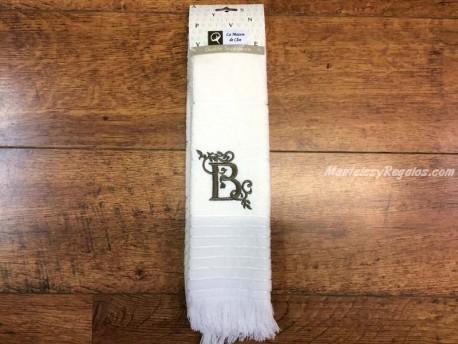 Paño de cocina algodón letra B