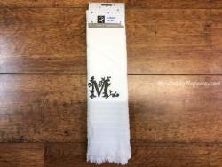 Paño de cocina algodón letra M