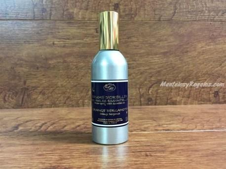 Spray Ambientador Almohadas de NARANJA-BERGAMOTA - 100 ml.