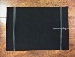 Mantel individual DAY DRAP color negro