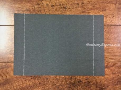 Mantel individual DAY DRAP color gris antracita