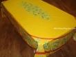 Mantel de Algodón Plastificado - Modelo MAUSSANE - Amarillo (Rectangular 2,50 x 1,60 mt.)