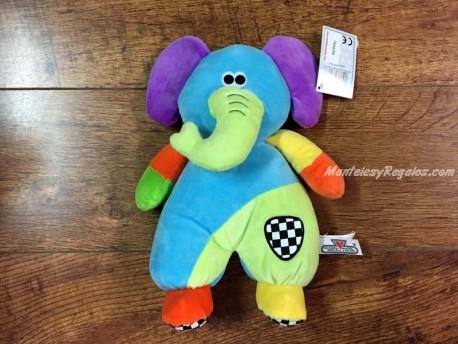Peluche con sonajero modelo Elefante