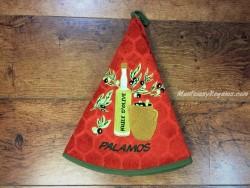 Paño cocina - Modelo BOTELLA DE ACEITE 02 PALAMÓS - Azafrán