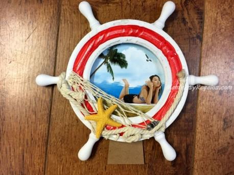 Marco de fotos modelo TIMÓN - 23 cm. diámetro