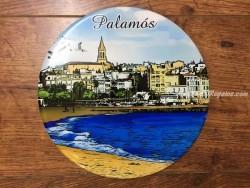 Plato de cerámica modelo PLAYA PALAMÓS