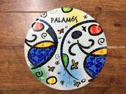 Plato de cerámica modelo MOSAICO PALAMÓS