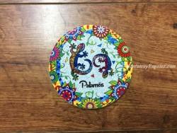 Plato de cerámica modelo 2 GECOS PALAMÓS