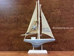 Reloj de mesa marinero modelo TIMÓN 22 cm.