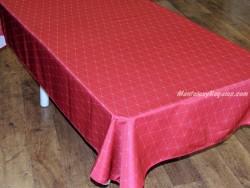 Mantel antimanchas - Modelo GEO - Rojo
