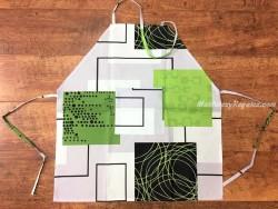 Delantal antimanchas WINDOWS verde