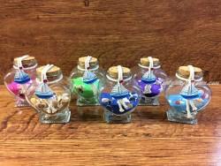 Botella decorativa cristal modelo CORAZÓN