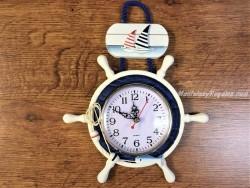 Reloj de pared modelo 2 VELEROS - 30 cm.