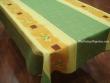 Mantel Antimanchas de Poliéster - Modelo BAMBÚ - Verde