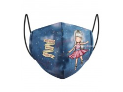 Mascarilla reutilizable Gorjuss - DANCING AMONG THE STARS