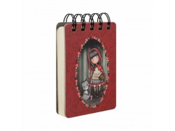 Mini libreta encuadernada LITTLE RED RIDING HOOD
