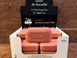 Jabón vegetal de MIEL - 100 gr.