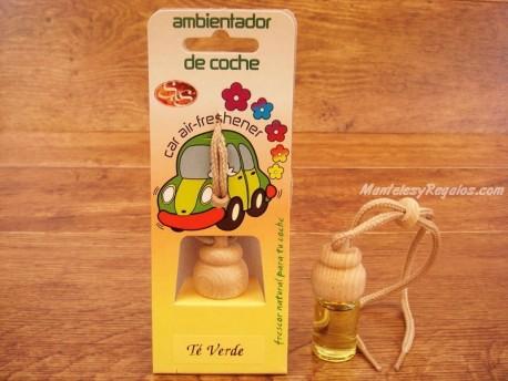 Ambientador de coche de TÉ VERDE - 7 ml.