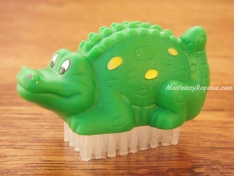 Limpia uñas - Modelo COCODRILO - Verde