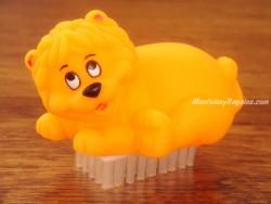 Limpia uñas - Modelo LEÓN - Naranja