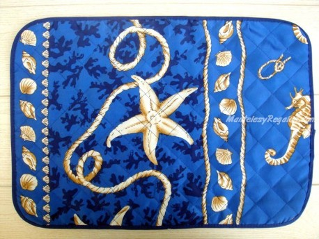 Mantel individual Antimanchas - Modelo MARINERO - Azul