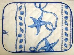 Mantel individual Antimanchas - Modelo MARINERO - Blanco