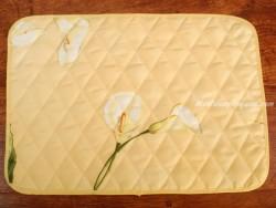 Mantel individual Antimanchas - Modelo LIRIOS - Amarillo