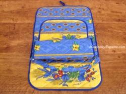 Porta rollos papel cocina - Modelo TRIGO - Azul