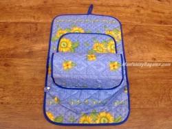 Porta rollos papel cocina - Modelo GIRASOL 01 - Azul