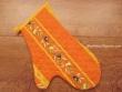 Guante Cocina de Algodón - Modelo CLOS DES OLIVIERS - Naranja