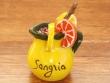 Imán nevera - Modelo JARRA DE SANGRÍA (color amarillo)