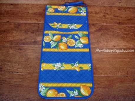Bolsa de Pan de Algodón - Modelo CITRON - Azul