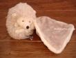 Peluche erizo HUBERT BABY RUG (color gris claro)