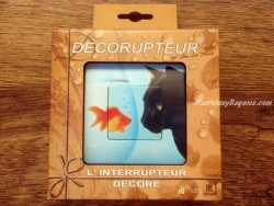 Interruptor eléctrico - Modelo CHAT ET POISSON