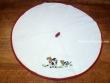 Paño redondo de cocina - Modelo VACAS - Blanco