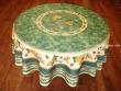 Mantel Antimanchas - Modelo GIRASOL ABEJA - Verde (foto solo del mantel redondo de 1,80 mt.)