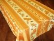 Mantel Antimanchas de Poliéster - Modelo GIRASOL ABEJA - Amarillo