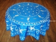 Mantel Antimanchas - Modelo MARINERO - Azul (foto solo del mantel redondo de 1,80 mt.)