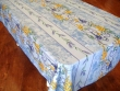 Mantel Antimanchas de Poliéster - Modelo GLYCINE - Azul