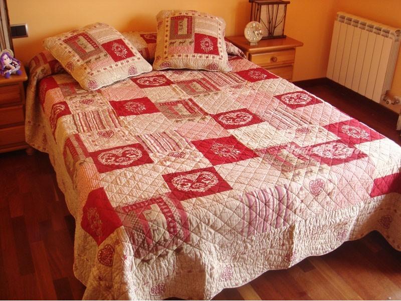 Colcha de cama bouti modelo q062 for Colchas para camas grandes