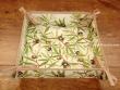 Panera de Mesa de Algodón - Modelo CLOS DES OLIVIERS - Crema