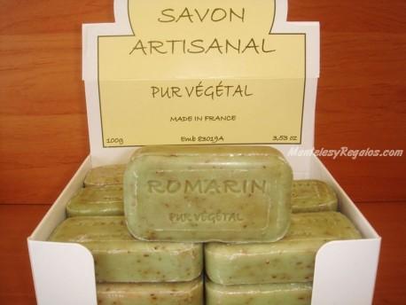 Jabón Vegetal Puro de Romero