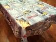 Mantel Antimanchas de Poliéster - Modelo NUEVA YORK TAXI - Amarillo