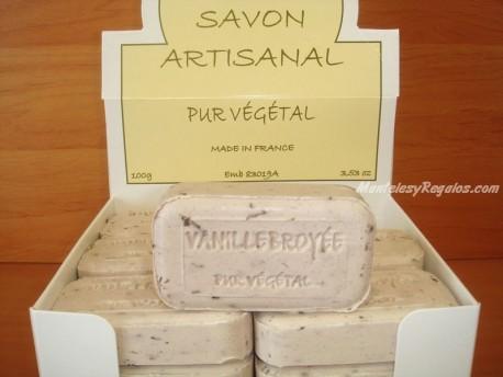 Jabón Puro Vegetal de Vainilla