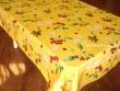 Mantel Antimanchas de Poliéster - Modelo CEREZAS - Amarillo