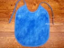 Babero bebé - Modelo UNICOLOR - Azul